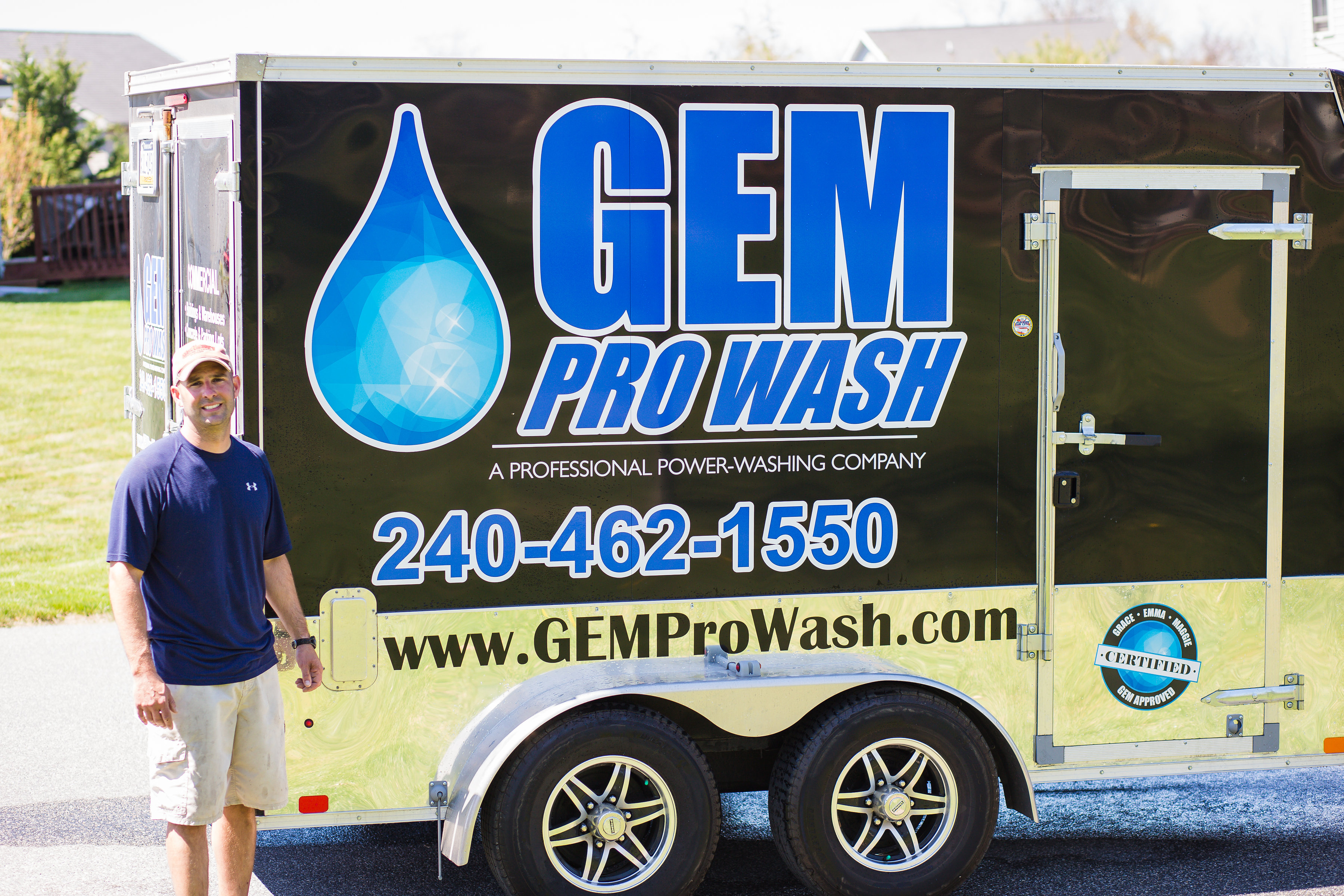 Gem Pro Wash | Sidewalk Cleaning Contractor in Fayetteville PA